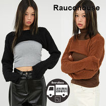 Raucohous Warm Soft Cropped Knit BBH714 追跡付