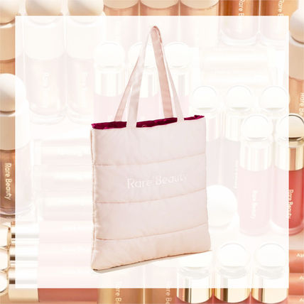 Rare Beauty☆Puffy Tote Bag☆ナイロントートバッグ