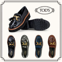 TOD'S(トッズ) ローファー・オックスフォード TOD'S☆KATE LOAFERS IN LEATHER ケイトローファー☆送料込