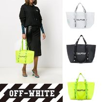 【OFF-WHITE】VIPで関送込★Commercial ハンドバッグ S