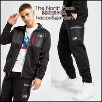 The North Face★関送込ロゴカーゴ上下セット(黒)