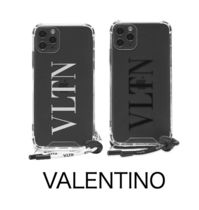 送料込 VALENTINO VLTN ロゴ iPhone 11 proケース