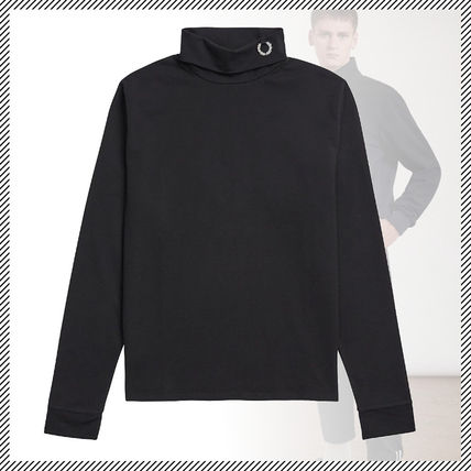 FRED PERRY × RAF SIMONS★コラボ★LAUREL ROLL NECK シャツ