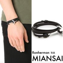 送料込Ronherman取扱MIANSAI Anchor Leather Bracelet
