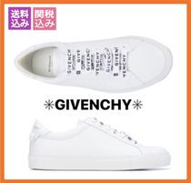 【GIVENCHY】 URBAN  STREET  WHITE  LEATHER  SNEAKERS