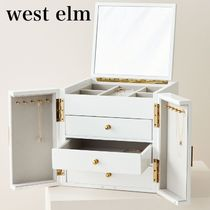 west elm Modern Lacquerジュエリーボックス キューブ関税送料込