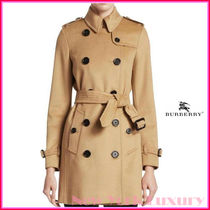 BURBERRY★素敵!KENSINGTON DOUBLE BREASTED TRENCH COAT
