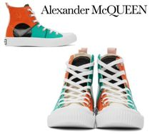 Alexander McQueen☆Multicolor McQ Swallow Orbyt High 靴