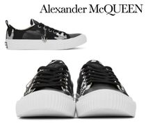 Alexander McQueen☆Black & White McQ Swallow Orbyt Sneakers
