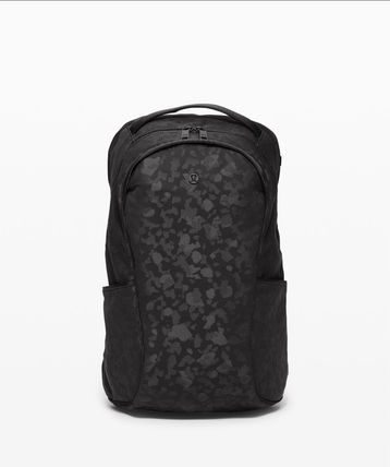 Out Of Range Backpack 20L*楽々収納*Camo Jacquard Black