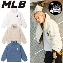 MLB KOREA woolly fleece logo jumper YJ618 追跡付