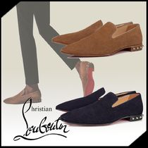 ◆Christian Louboutin◆ Marquees スエード  ローファー