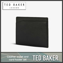 [Ted Baker] Leather wallet and card holder set 送料関税込