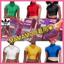 MAMAMOO着用★大人気★adidas Originals★3-stripes Cropped Top