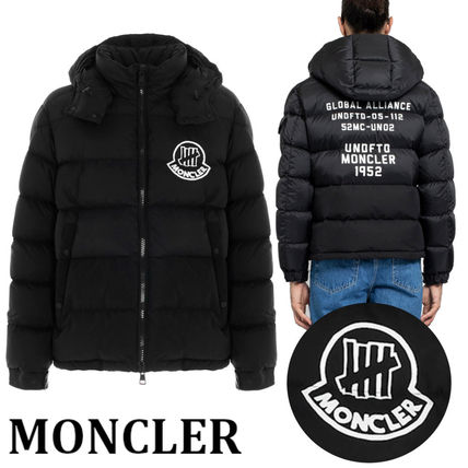 2 Moncler 1952 ARENSKY バックプリント ロゴ ダウンジャケット