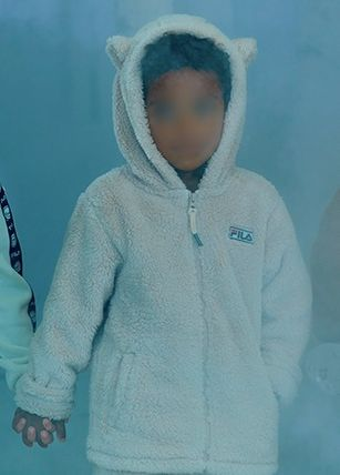 FILA キッズアウター ◆FILA KIDS◆Oversized Shearling Jacket◆UNISEX◆正規品◆(4)