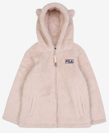 FILA キッズアウター ◆FILA KIDS◆Oversized Shearling Jacket◆UNISEX◆正規品◆(5)