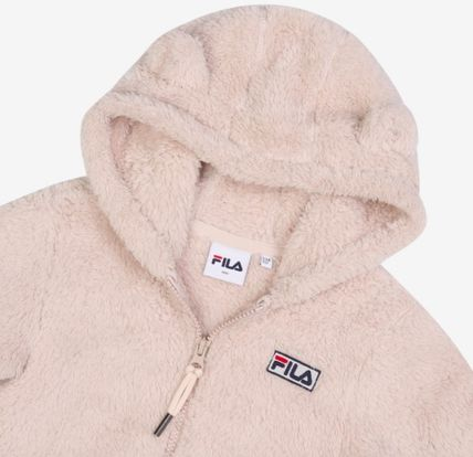 FILA キッズアウター ◆FILA KIDS◆Oversized Shearling Jacket◆UNISEX◆正規品◆(7)