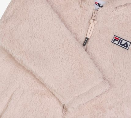 FILA キッズアウター ◆FILA KIDS◆Oversized Shearling Jacket◆UNISEX◆正規品◆(8)