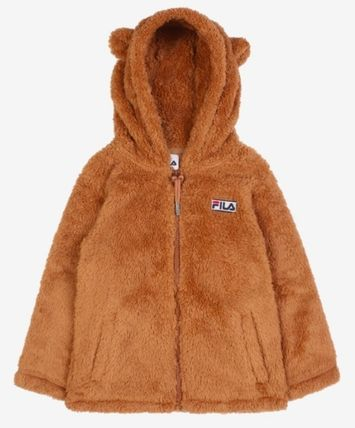 FILA キッズアウター ◆FILA KIDS◆Oversized Shearling Jacket◆UNISEX◆正規品◆(11)