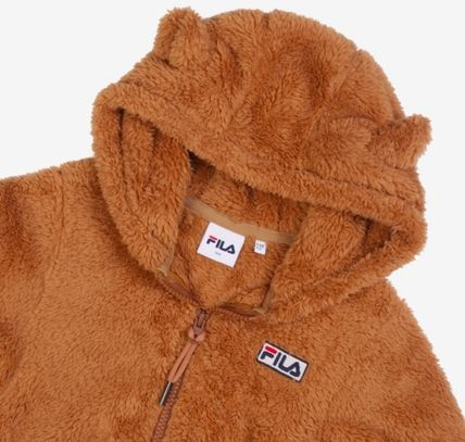 FILA キッズアウター ◆FILA KIDS◆Oversized Shearling Jacket◆UNISEX◆正規品◆(13)