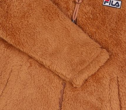 FILA キッズアウター ◆FILA KIDS◆Oversized Shearling Jacket◆UNISEX◆正規品◆(14)