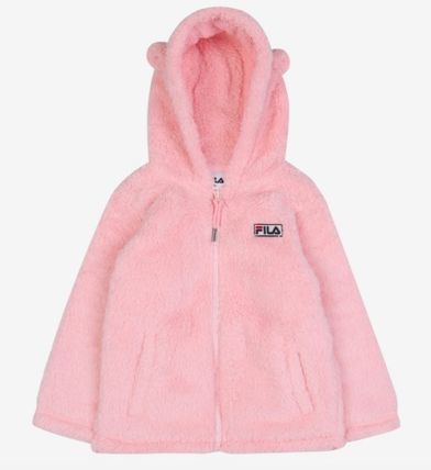 FILA キッズアウター ◆FILA KIDS◆Oversized Shearling Jacket◆UNISEX◆正規品◆(17)