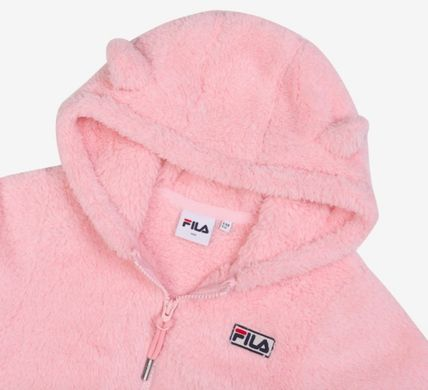 FILA キッズアウター ◆FILA KIDS◆Oversized Shearling Jacket◆UNISEX◆正規品◆(19)