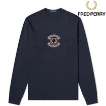 FRED PERRY(フレッドペリー) Tシャツ・カットソー 【秋春おすすめ】FRED PERRY Authentic Logo Long Sleeve Tee