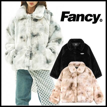 ★NASTY FANCY CLUB★RAGLAN FUR JACKET★人気★