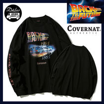 COVERNAT X BACK TO THE FUTURE Long Sleeve NE2634 追跡付