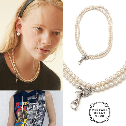 VINTAGE HOLLYWOOD★ジェニー着用 Opera Two-way Pearl Necklace