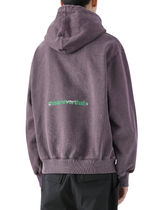 [thisisneverthat] Universe hooded Sweatshirt Purple