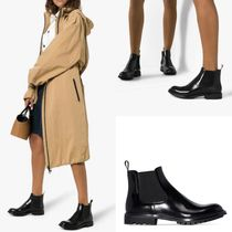 leather ankle boots☆雨の日も雪の日も安心して履ける1足◎