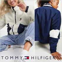 【TOMMY JEANS】国内発送 リバーシブル2way フリースブルゾン