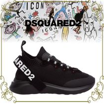 【DSQUARED2 インパクトのあるロゴ】 Speedster Sneakers