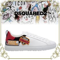 【DSQUARED2 ロゴワッペンが特徴的】 New Tennis Sneakers