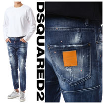 DSQUARED2(ディースクエアード) SLIM BIKER JEAN Orange paint