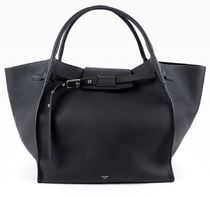 CELINE★Big Bag medium シボ black 旧ロゴ【関税込EMS謝恩品】