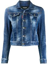 【関税負担】 DSQUARED2 Stretch Denim Jacket