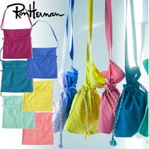【Ron Herman】【6色展開】Shoulder Pouch 巾着バッグ♪