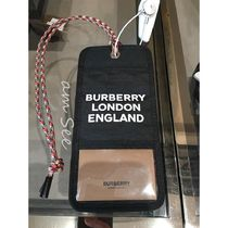 【BURBERRY】カードケース ネックレス 黒