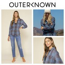 Outer known(アウターノウン) ブラウス・シャツ 【Outer known】レディース BLANKET シャツ-Pacific Old Coast