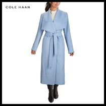 Cole Haan Belted Wrap Coat 国内発送