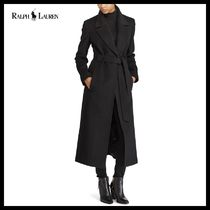 Ralph Lauren Belted Wool-Blend Coat