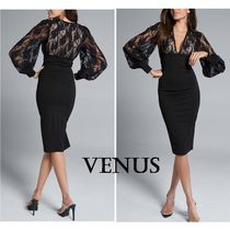 完売すぐ☆【Venus】Lace Detail Twofer Dress ワンピース