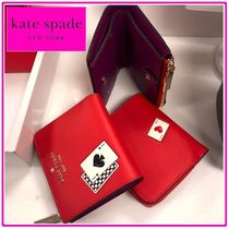 kate spade☆small no window l-zip bifold☆二つ折り財布☆送込