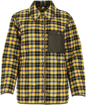 Burberry ○MULTICOLOR FLANNEL AND NYLON PADDED JACKET