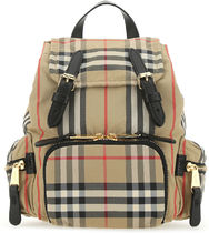 Burberry ■EMBROIDERED NYLON SMALL THE ROCKSTUD BACKPACK