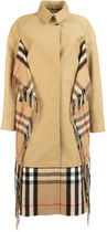 BURBERRY◆BEIGE COTTON TRENCH